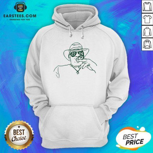 Nice 27-24 Unisex Hoodie - Design By Earstees.com