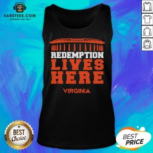 Nice Redemption Lives Here Virginia Tank Top - Design By Earstees.com