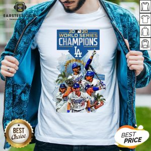 Official LA Dodgers Double Champions 2020 World Series Player Legend Shirt - Design By Earstees.com