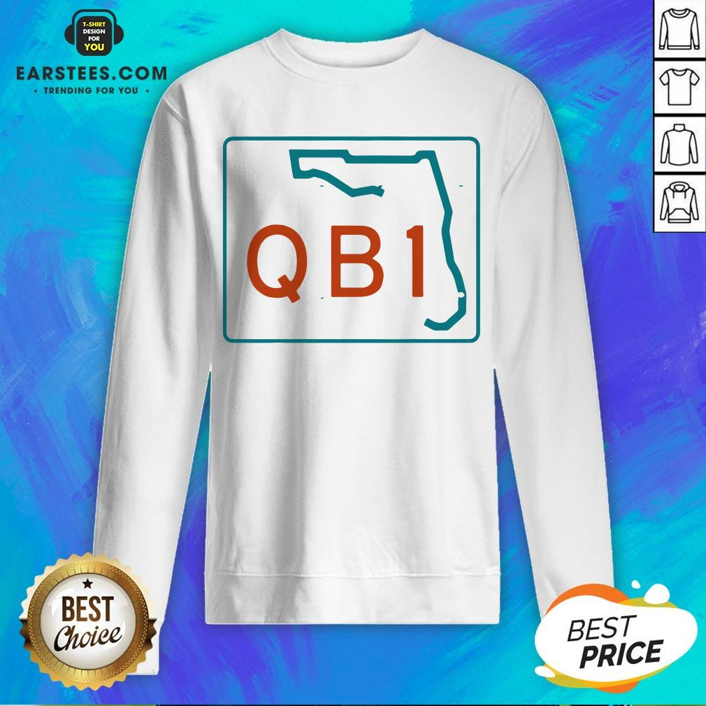 Official Miami QB1 – Miami Football 2020 Sweatshirt- Design By Earstees.com