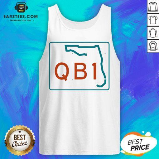 Official Miami QB1 – Miami Football 2020 Tank Top - Design By Earstees.com