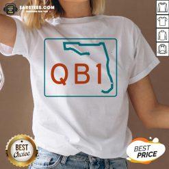 Official Miami QB1 – Miami Football 2020 V-neck - Design By Earstees.com
