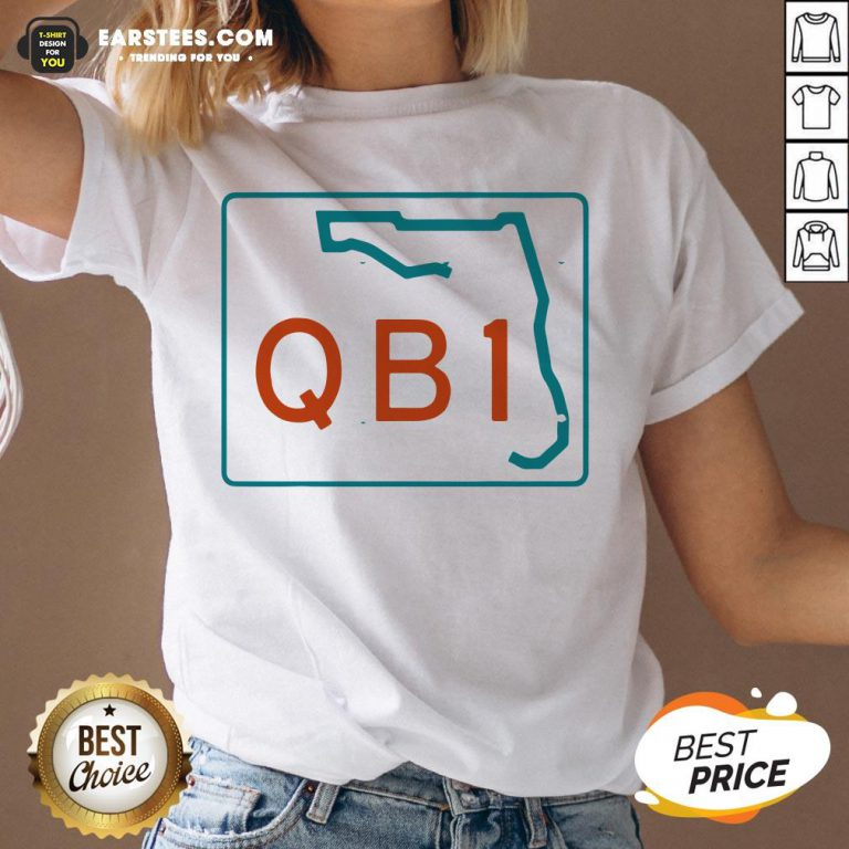 Official Miami QB1 – Miami Football 2020 V-neck - Design By Earstees.com