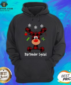 Official Reindeer Dispatcher Bartender Squad Christmas Hoodie - Design By Earstees.com