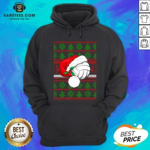 Official Santa Claus Hat Volleyball Christmas Tee Gift Hoodie - Design By Earstees.com
