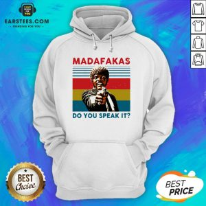 Original Madafakas Do You Speak It Vintage Retro Hoodie - Design By Earstees.com