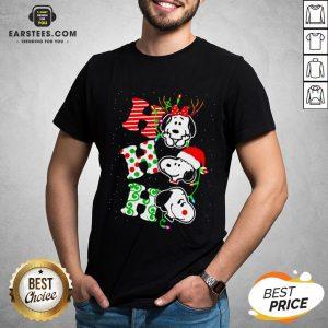 Original Snoopy Ho Ho Ho Christmas 2020 Shirt- Design By Eerstees.com