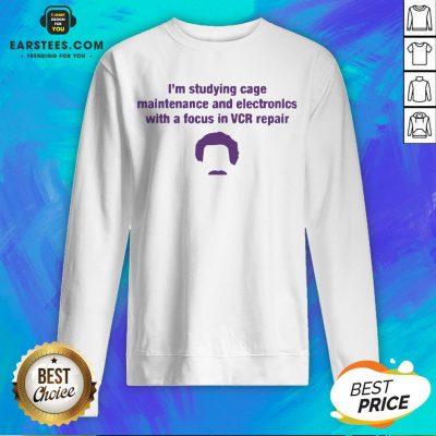 Original Vcr Repair Pocket Sweatshirt - Design By Earstees.com