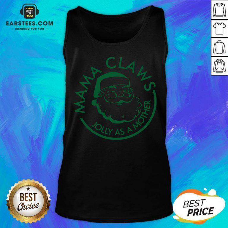 Perfect Mama Claws Jolly As A Mother Tank Top - Design By Earstees.com