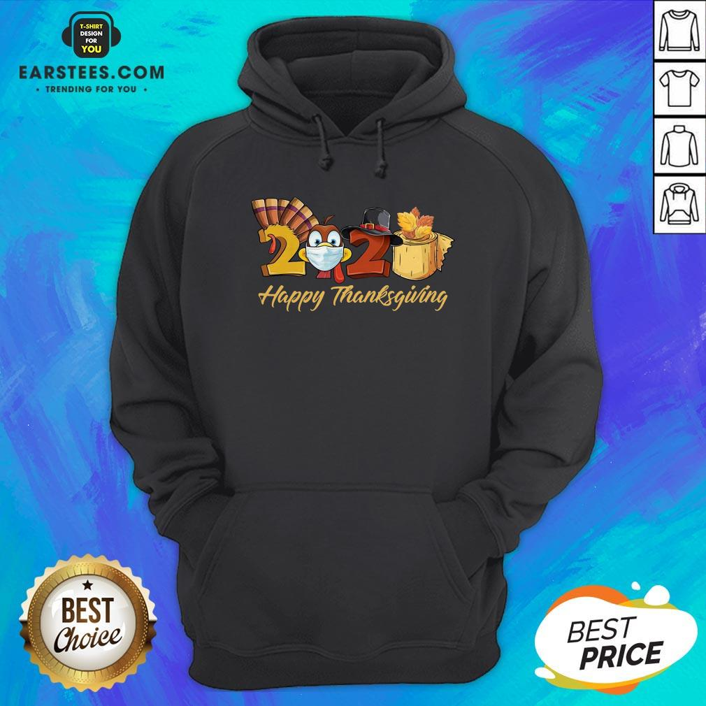 Perfect Turkey Face Mask 2020 Happy Thanksgiving Hoodie - Design By Earstees.com