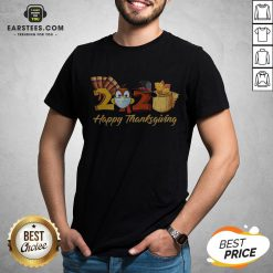 Perfect Turkey Face Mask 2020 Happy Thanksgiving Shirt - Design By Earstees.com