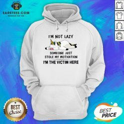Premium Unicorn Pig I'm Not Lazy Someone Just Stole My Motivation I'm The Victim Here Hoodie - Design By Earstees.com