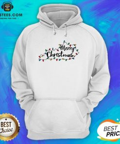 Pretty Kentucky Merry Christmas Light Hoodie - Design By Earstees.com