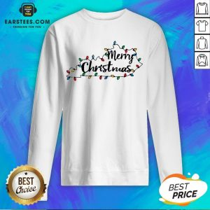 Pretty Kentucky Merry Christmas Light Sweatshirt - Design By Earstees.com