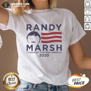 Pretty Randy Marsh I Thought This Was America 2020 V-neck - Design By Earstees.com
