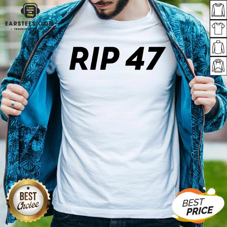 Pretty RIP 47 Sleeveless Shirt - Design By Earstees.com