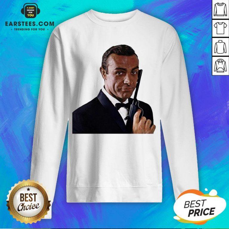 Pretty RIP Sean Connery 1930 2020 James Bond Sweatshirt - Design By Earstees.com