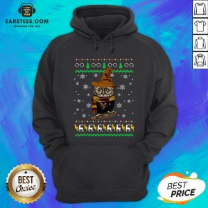 Pretty Ugly Christmas Harry Potter Owl Sweat Hoodie - Design By Earstees.com