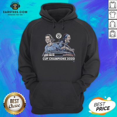 Top Lavelle And Mewis Man City 2020 Cup Champions Legend Hoodie - Design By Earstees.com