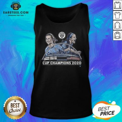 Top Lavelle And Mewis Man City 2020 Cup Champions Legend Tank Top - Design By Earstees.com