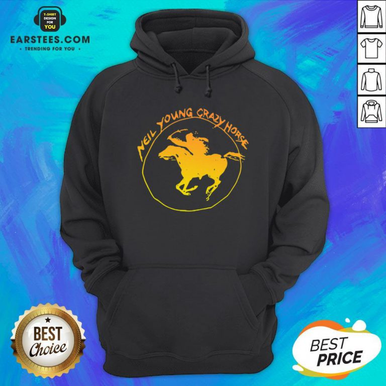 Top Neil Young Crazy Horse Hoodie - Design By Earstees.com
