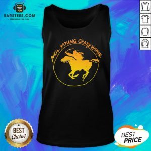 Top Neil Young Crazy Horse Tank Top - Design By Earstees.com
