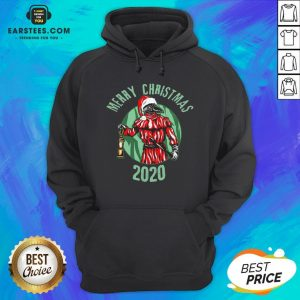 Top Santa Claus Plague Doctor Face Mask Christmas 2020 Hoodie - Design By Earstees.com