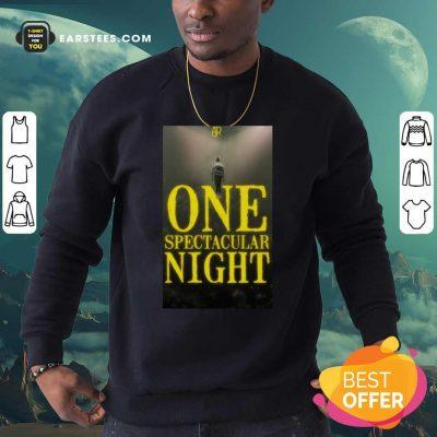 Ajr One Spectacular Night Sweatshirt - Design By Earstees.com
