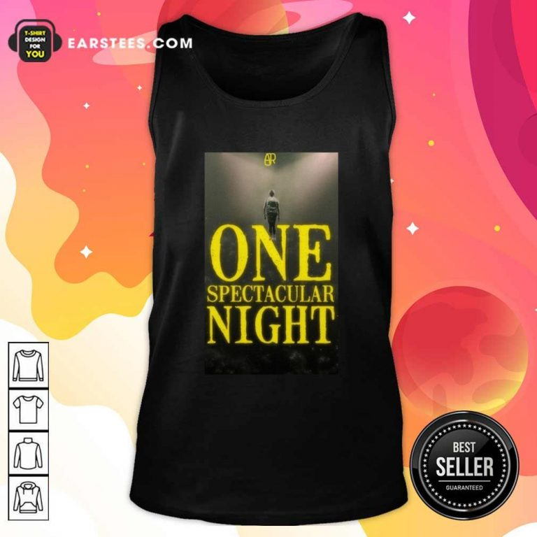 Ajr One Spectacular Night Tank Top - Design By Earstees.com