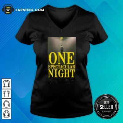 Ajr One Spectacular Night V-neck - Design By Earstees.com
