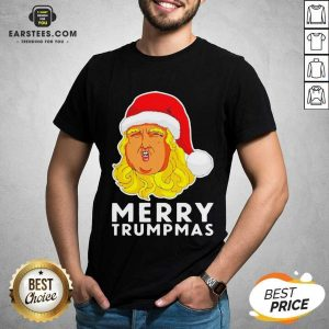 Awesome Merry Trumpmas Christmas Shirt - Design By Earstees.com