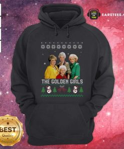 The Golden Girls Ugly Merry Christmas Hoodie - Design By Earstees.com