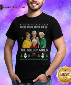 The Golden Girls Ugly Merry Christmas Shirt - Design By Earstees.com