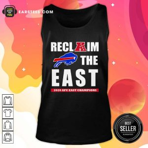 Buffalo Bills Reclaim The East 2020 AFC East Champions Tank Top - Design By Earstees.com
