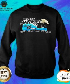 Funny Save The Manatee LCHS 16 Annual 5k Run 2 Mile Walk Mini Mile Sweatshirt - Design By Earstees.com