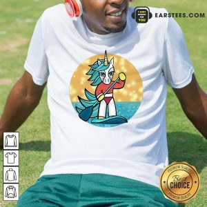Sup Unicorn Paddleboard T-Shirt - Design By Earstees.com