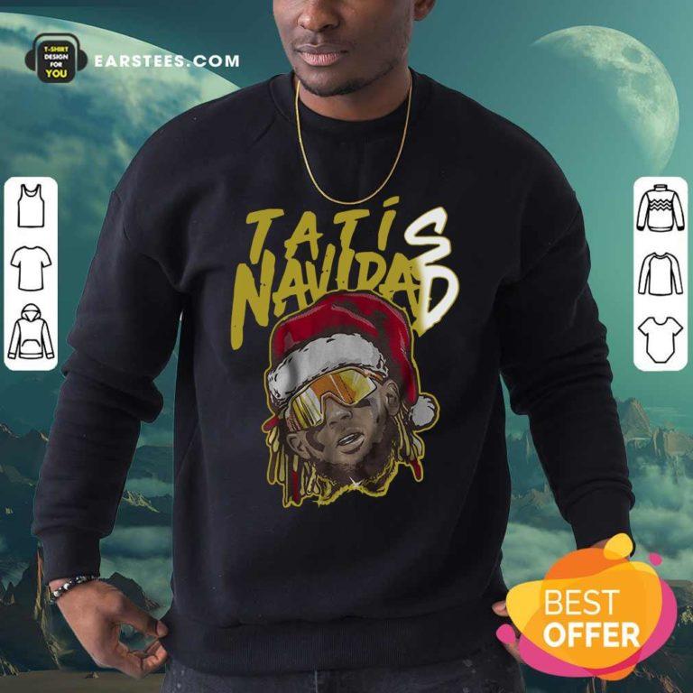 Tatis Navidad Sweatshirt - Design By Earstees.com