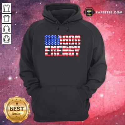 Dragon Energy American Flag Hoodie - Design By Earstees.com
