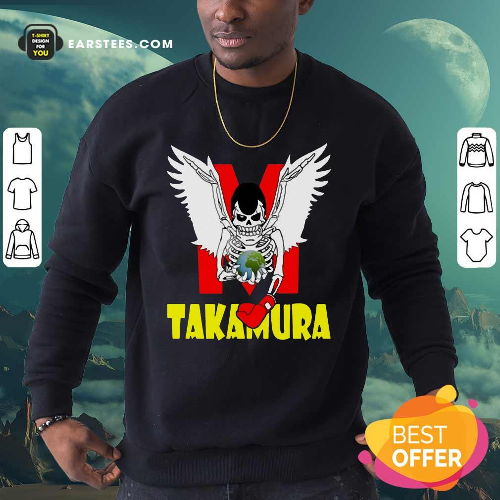 Hajime No Ippo Takamura Sweatshirt - Design By Earstees.com