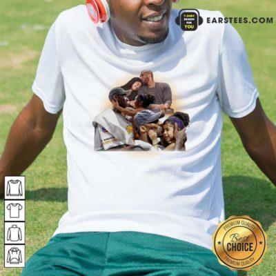 Kobe And Gigi Lebron James Shirt - Design By Earstees.com
