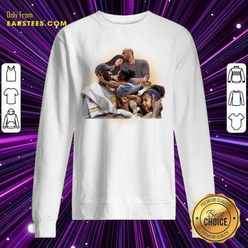 Kobe And Gigi Lebron James Sweatshirt - Design By Earstees.com