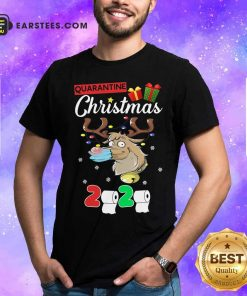 Reindeer Santa Claus Mask 2020 Toilet Paper Quarantine Christmas Shirt - Design By Earstees.com