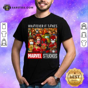 Whatever It Takes Marvel Studios Avengers Face Mask Shirt - Design By Earstees.com