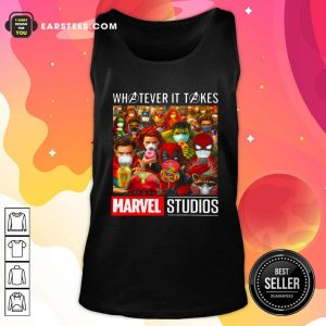 Whatever It Takes Marvel Studios Avengers Face Mask Tank Top - Design By Earstees.com