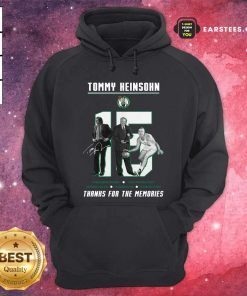 15 Tommy Heinsohn Thank For The Memories Signature Hoodie - Design By Earstees.com