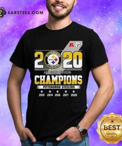 2020 AFC North Division Champions Pittsburgh Steelers Shirt - Design By Earstees.com