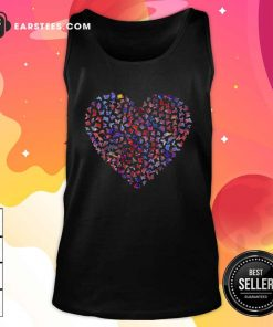 Heart Butterfly Tank Top - Design By Earstees.com
