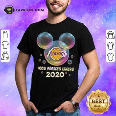 Los Angeles Lakers 2020 Mickey Disney Shirt - Design By Earstees.com