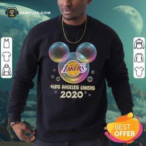 Los Angeles Lakers 2020 Mickey Disney Sweatshirt - Design By Earstees.com