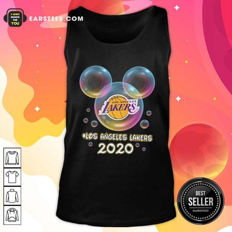 Los Angeles Lakers 2020 Mickey Disney Tank Top - Design By Earstees.com